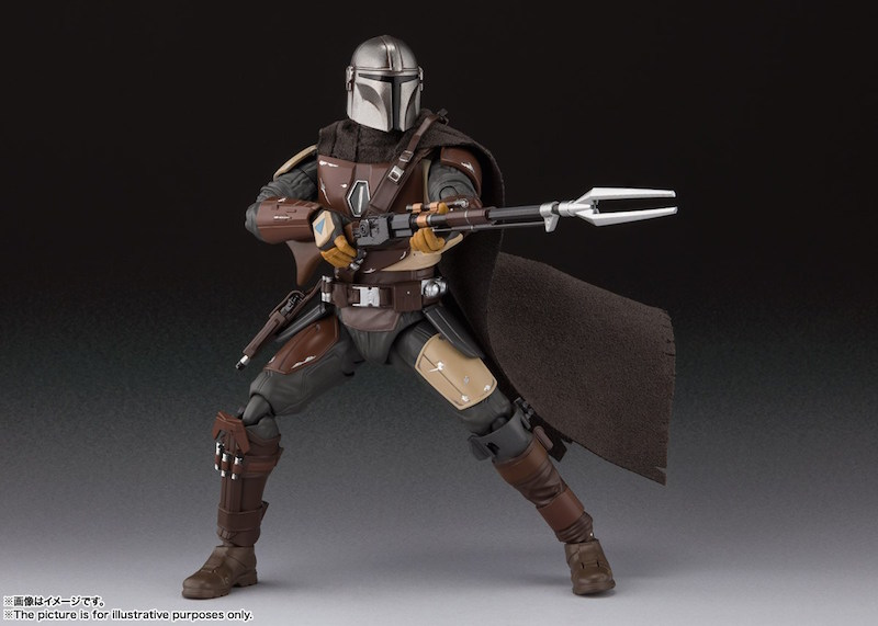 Bandai S.H. Figuarts Star Wars The Mandalorian & Emperor Palpatine Figures Announced