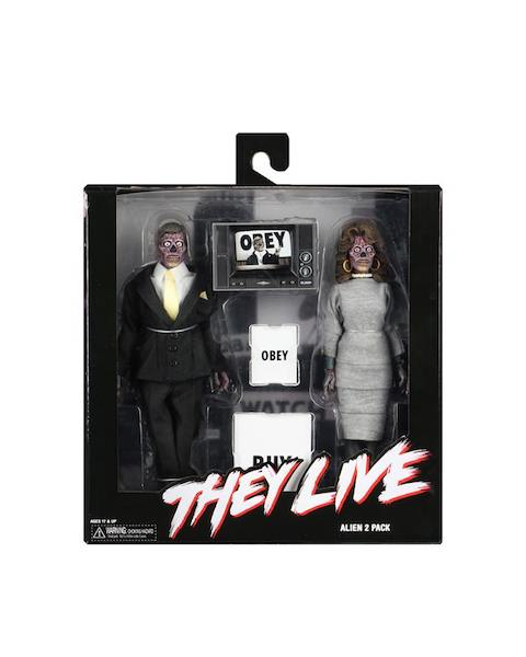 NECA Toys Shipping This Week – They Live 8″ Clothed Figures & E.T. Prop Replica
