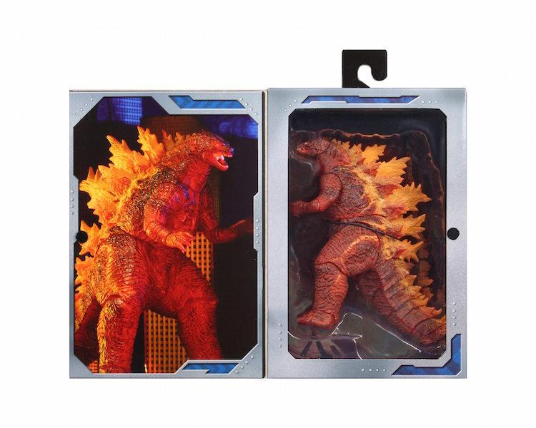NECA Toys Godzilla: King Of The Monsters – Target Exclusive Burning Godzilla Figure