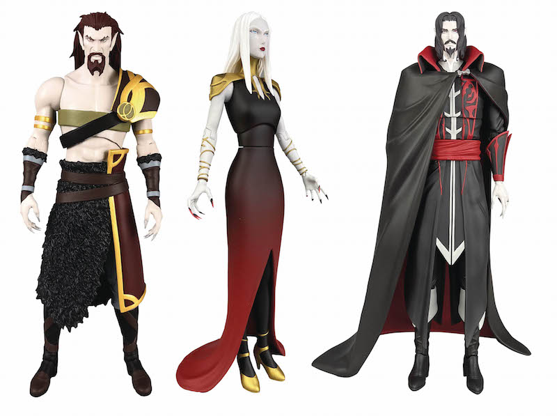 Diamond Select Toys In Stores This Week – Castlevania, DC Comics, Cthulhu, Rocketeer & More