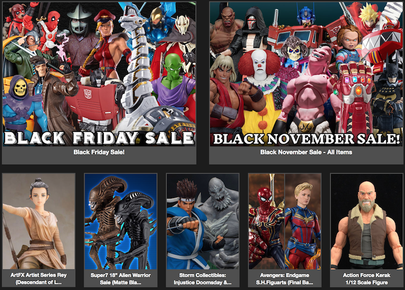 BigBadToyStore – Black Friday, Storm Collectibles, MAFEX, One:12 Batman, Iron Giant, DBZ, Mothra, NECA Horror & More