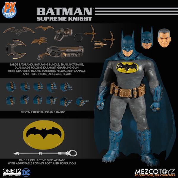 Mezco Toyz Previews Exclusive – DC Comics Supreme Knight Batman One:12 Collective Figure