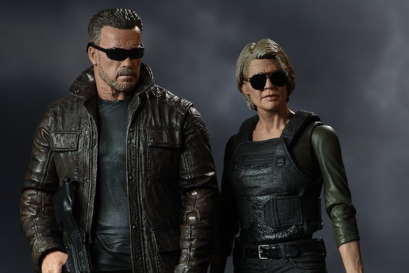 NECA Toys Shipping This Week – Terminator: Dark Fate, Trick 'R Treat, TMNT & Mini Scalers