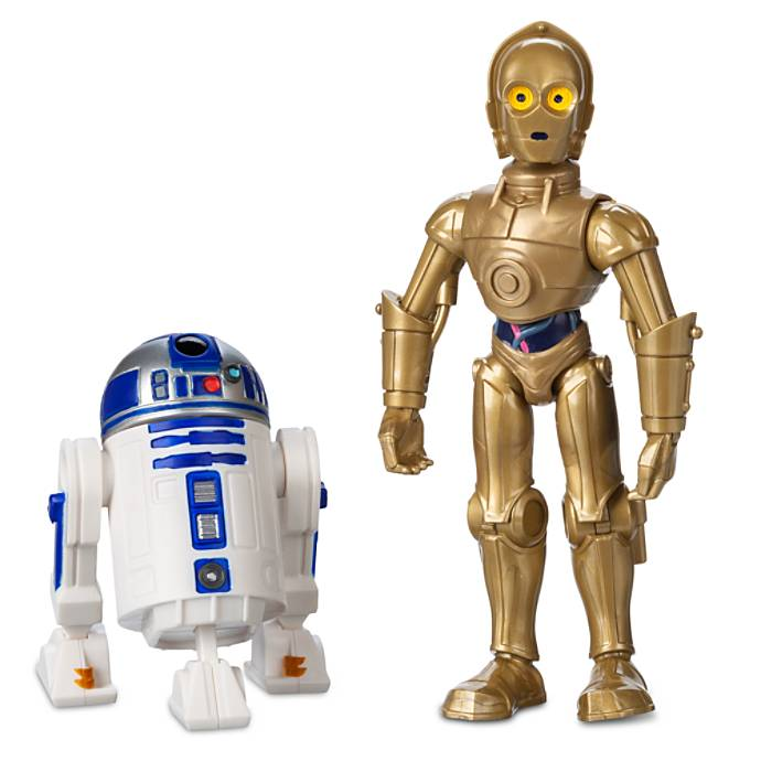 Disney Store Exclusive – Star Wars Toy Box C-3PO & R2-D2 Figure Set & Sith Trooper Figures Available Now