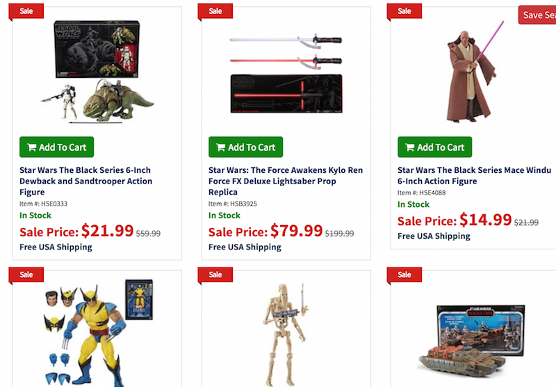 Entertainment Earth Black Friday Sale – Star Wars The Black Series 6″ Battle Droid & Mace Windu Figures Now $14.99 & More