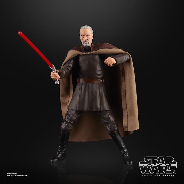 Hasbro Star Wars The Black Series 6″ Count Dooku Figure $19.99 On Amazon