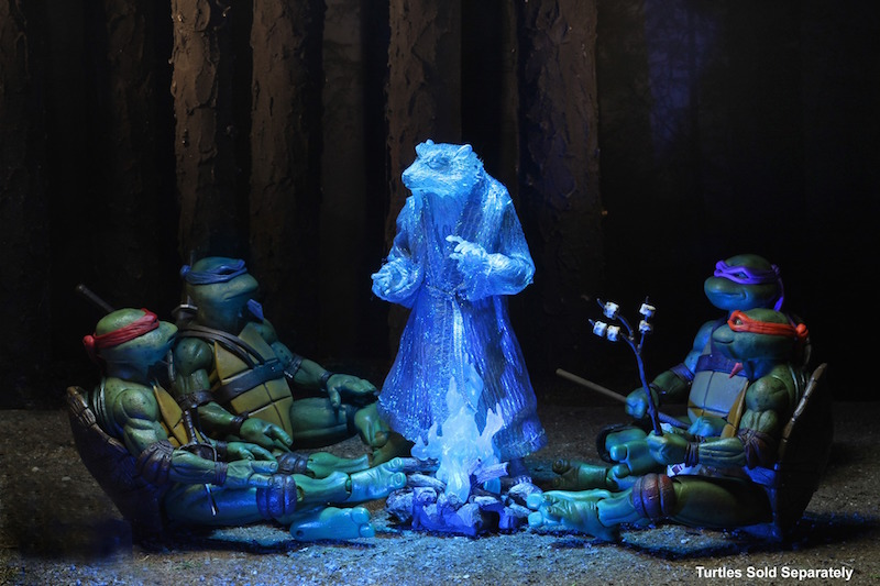 NECA Toys Lootcrate Exclusive Teenage Mutant Ninja Turtles 7″ Scale Splinter Figure Gets Funded