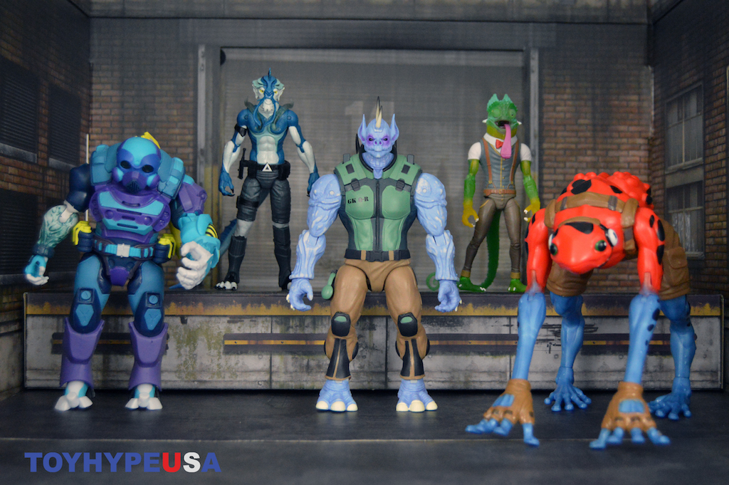 Panda Mony Toys – Alter Nation Daart, El Ray, Sham, Sabotage & Quillroy Figures Review