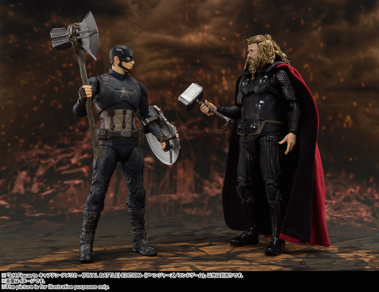 Bandai S.H. Figuarts Avengers: Endgame Figures Announced