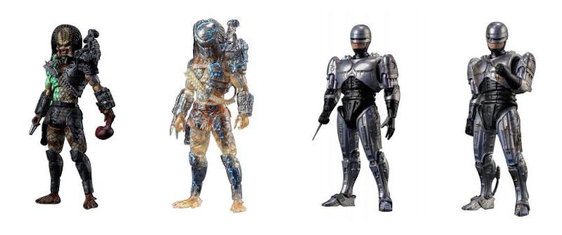 Hiya Toys Recreates '80s Movie Action With Previews Exclusive Predator, RoboCop 1/18th Scale Figures