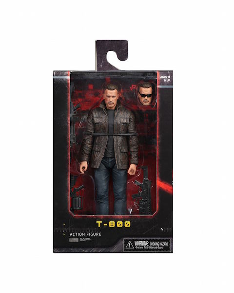 NECA Toys Terminator: Dark Fate Sarah Connor & T-800 Figures In-Packaging