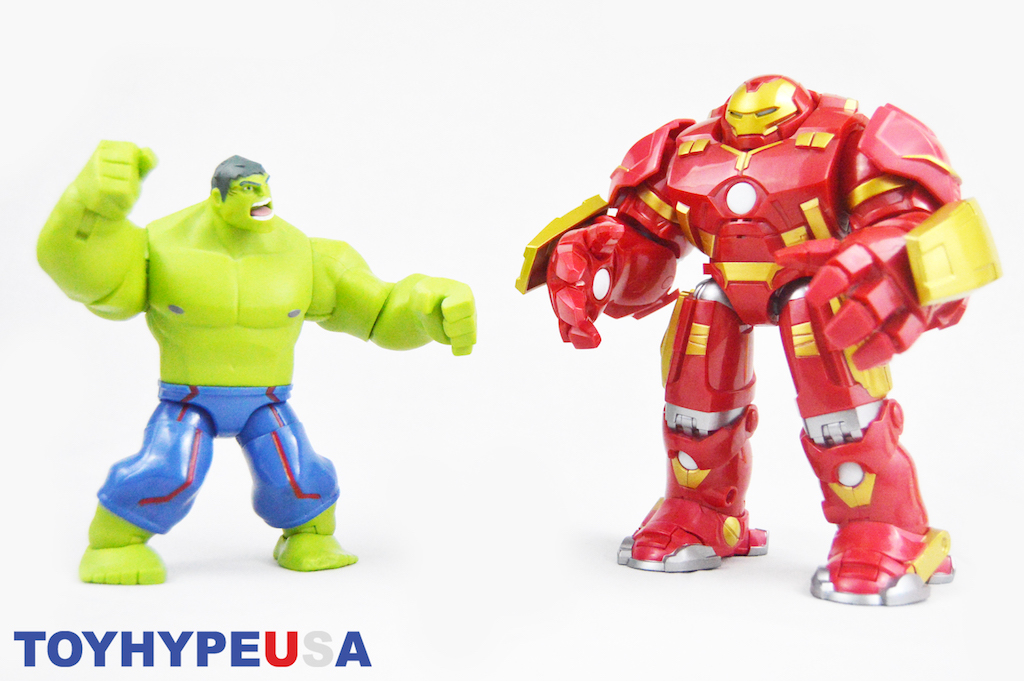 Disney Store Exclusive Marvel Toy Box Hulkbuster Deluxe Figure Set Review