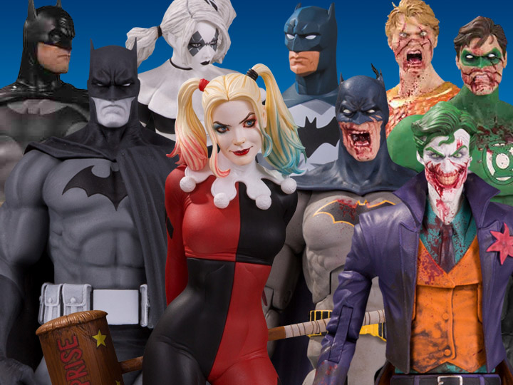 DC Collectibles Solicitations For August 2020 – Justice League Animated, DC Essentials Dceased, Batman, Harley Quinn & More