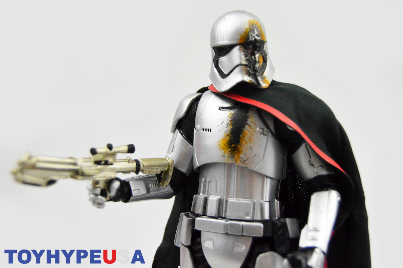 Disney Store Exclusive Star Wars The Black Series 6″ Battle Damaged Captain PhasmaFigure Review