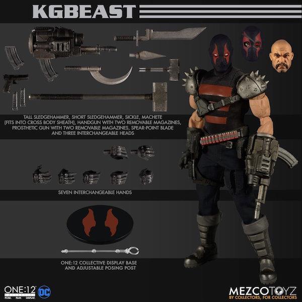Mezco Toyz DC Comics – KGBeast One:12 Collective Figure