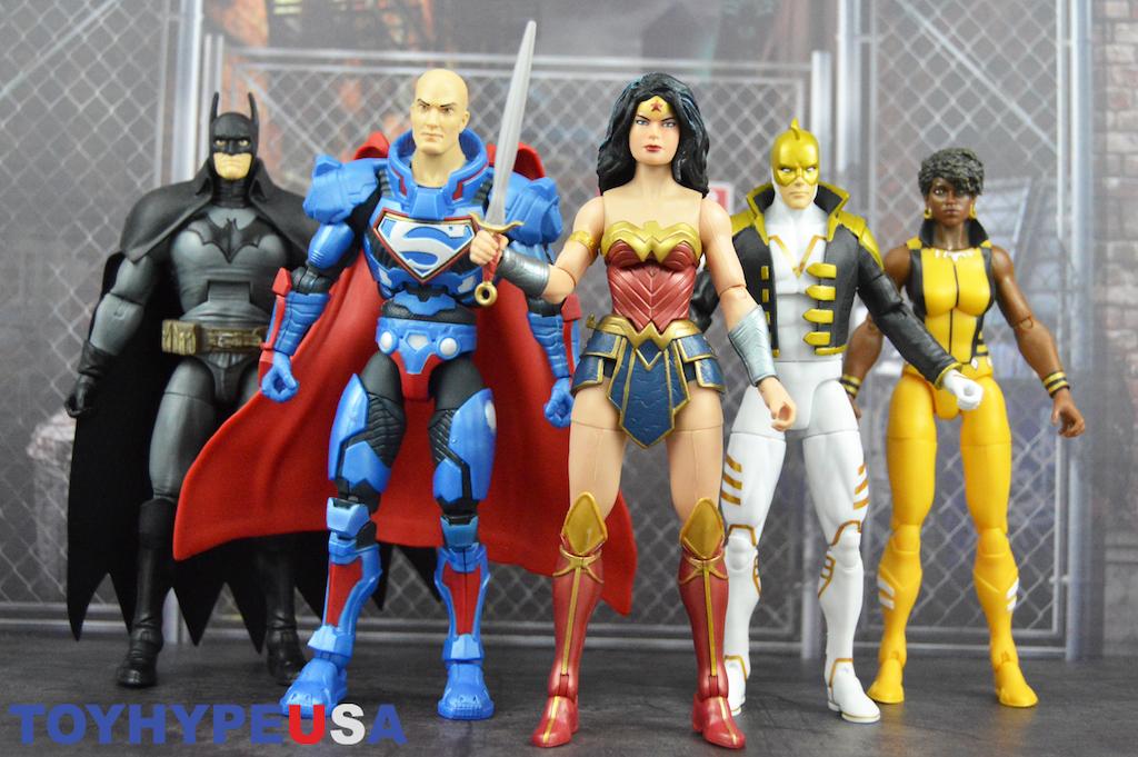 Mattel – DC Comics Multiverse 6″ Lex Luthor Collect & Connect Wave Rebirth Wonder Woman Figure Review