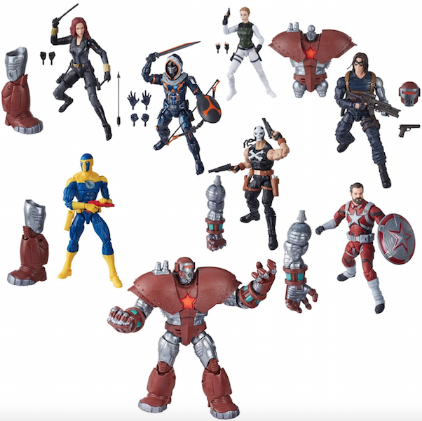 Hasbro Marvel Legends 6″  Black Widow Movie Wave 1 Crossbones & Winter Soldier Figures $19.99 On Amazon
