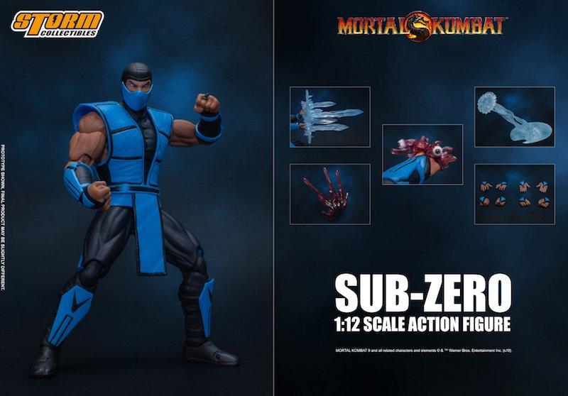 Storm Collectibles – Ultimate Mortal Kombat 3 Sub-Zero Figure