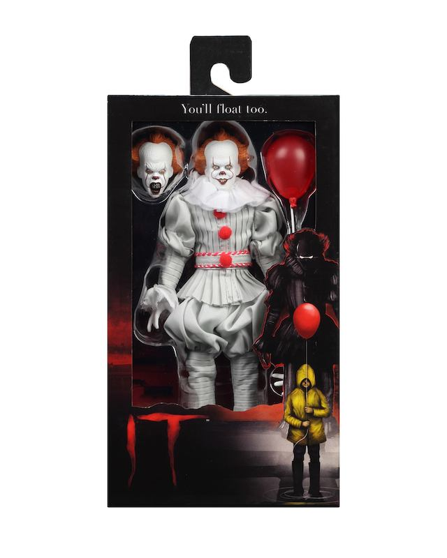 NECA Toys IT 2017 Pennywise 8″ Clothed Figure Available Now