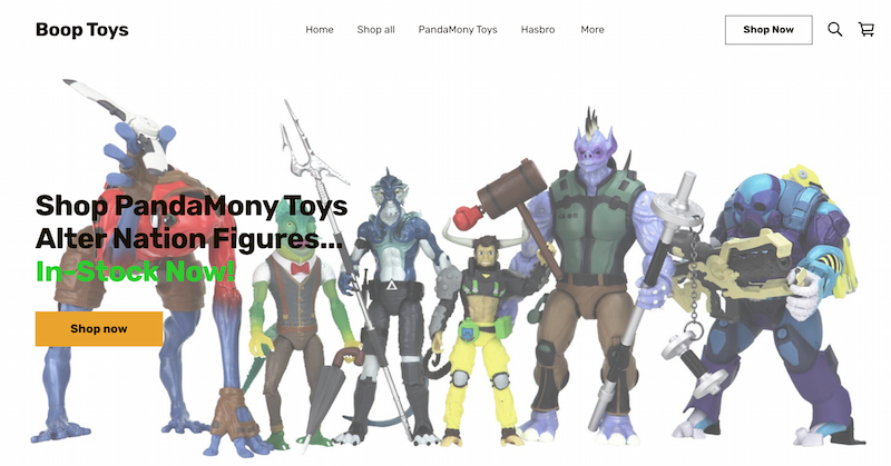 Boop Toys – Alter Nation Figures By PandaMony & Exclusive 20% Off Coupon Codes Extended