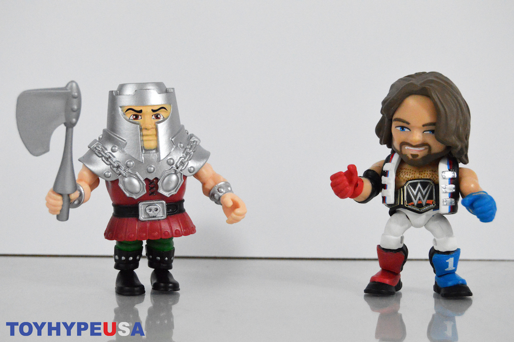 The Loyal Subjects – Masters Of The Universe Ram Man & WWE AJ Styles Figures Review