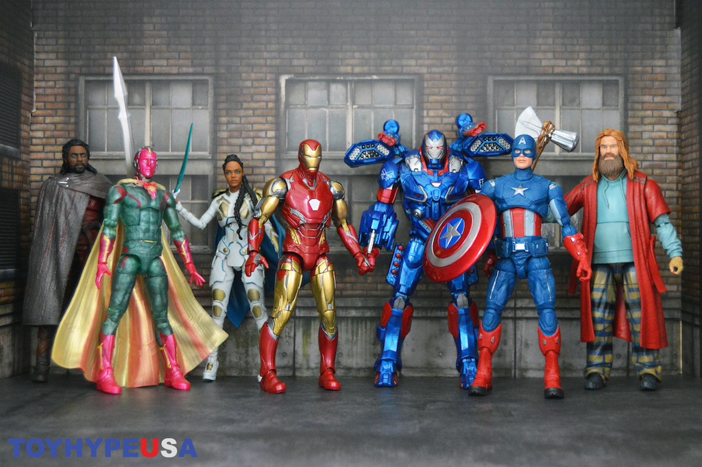 Hasbro Marvel Legends 6″ Avengers: Endgame Thor Build-A-Figure Wave Review