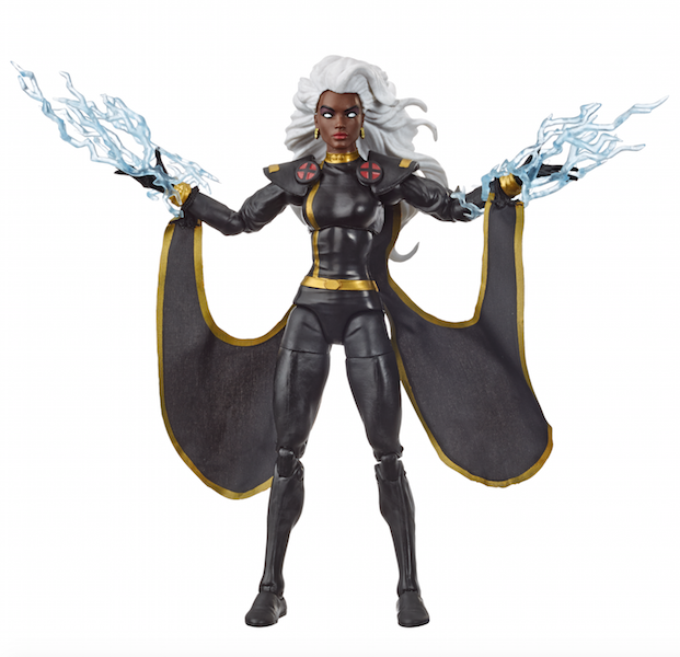 Hasbro Marvel Legends X-Men Retro Carded Storm In Black Outfit Figure Pre-Orders