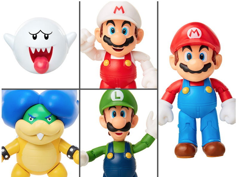 Jakks Pacific World Of Nintendo 4″ Wave 18 Figure Pre-Orders