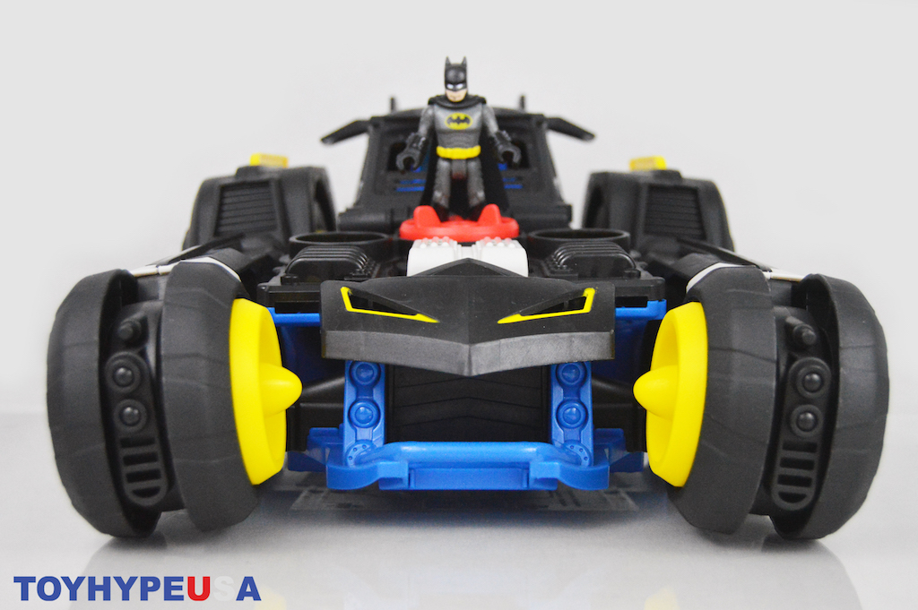 Fisher-Price Imaginext DC Super Friends Transforming Batmobile R/C Vehicle Review