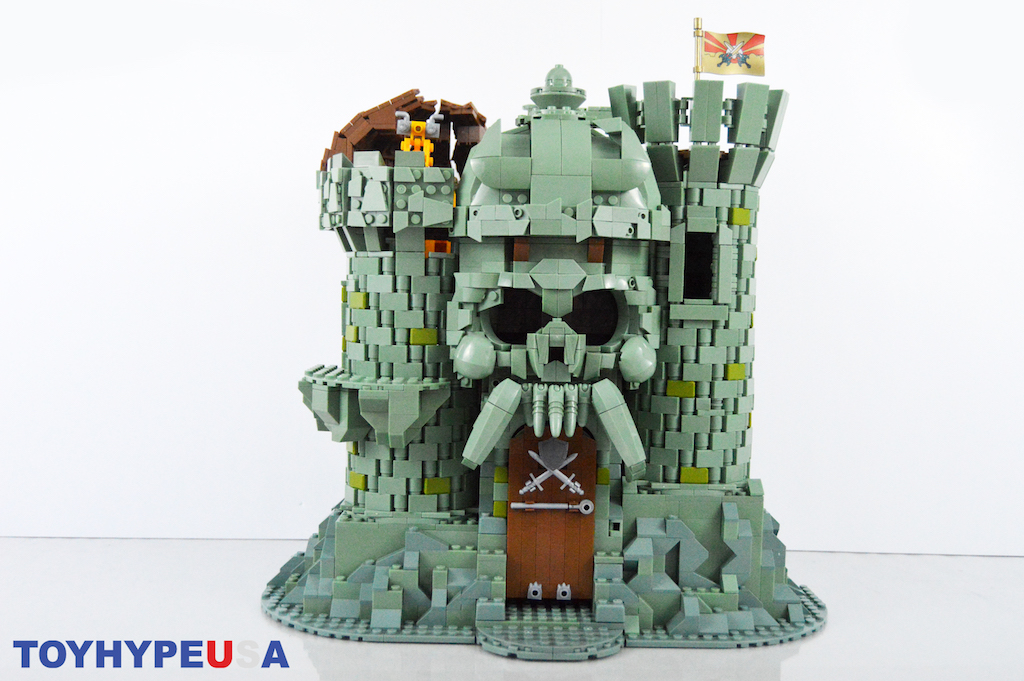 Mega Construx Masters Of The Universe Castle Grayskull Playset Review