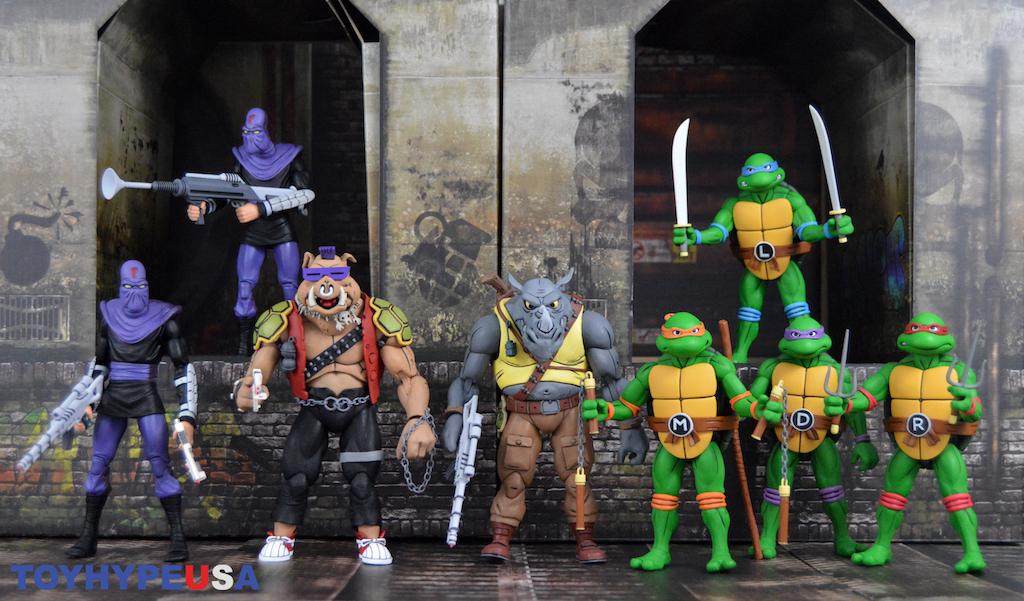 NECA Toys Teenage Mutant Ninja Turtles Target Exclusive 2-Packs Wave 2 Review