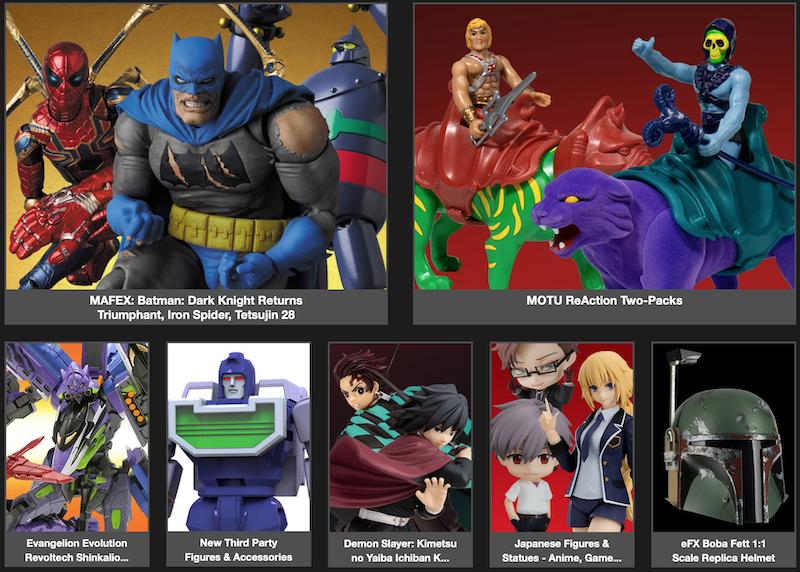 BigBadToyStore – MAFEX, MOTU, Evangelion, Mortal Kombat, Transformers, Beetlejuice, Robocop, Mothra, Power Rangers & More