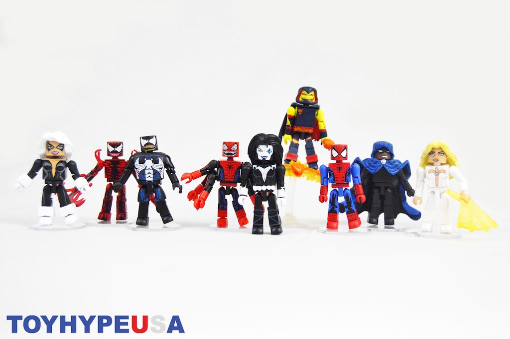 Diamond Select Toys – Marvel Minimates Series 76 Maximum Carnage Figures Review
