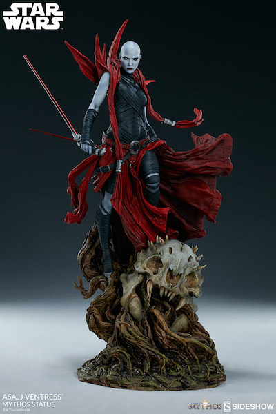 Sideshow Collectibles Star Wars – Asajj Ventress Mythos Statue Pre-Orders