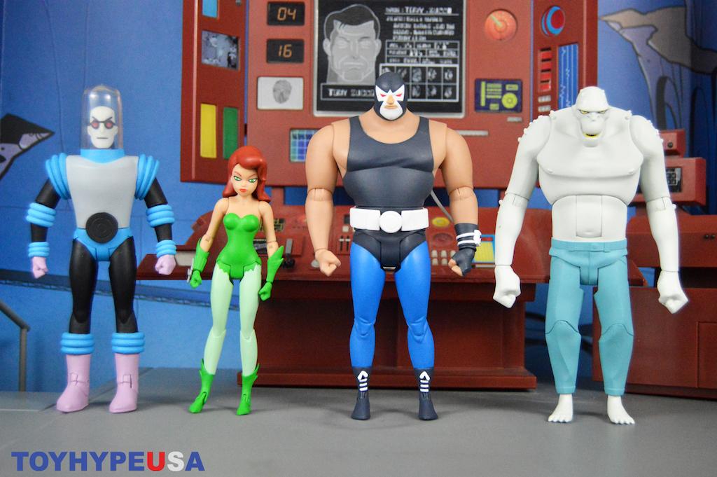 DC Collectibles Batman: The Animated Series Bane, Poison Ivy, Killer Croc & Mr. Freeze Figures Review