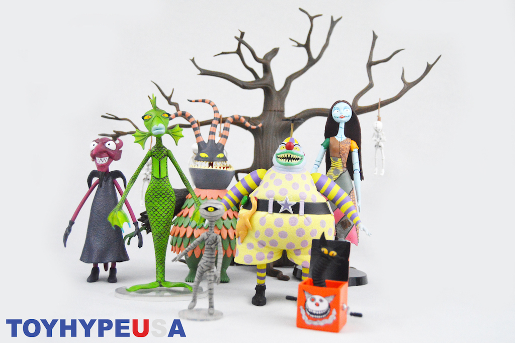 Diamond Select Toys Nightmare Before Christmas Select Series 6 Figures Review