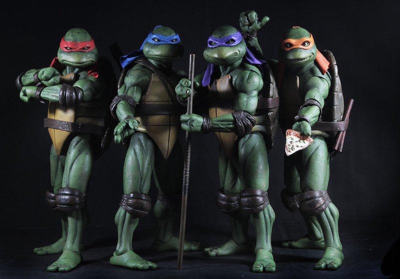 NECA Toys Teenage Mutant Ninja Turtles 1/4″ Scale Figures Available Once More
