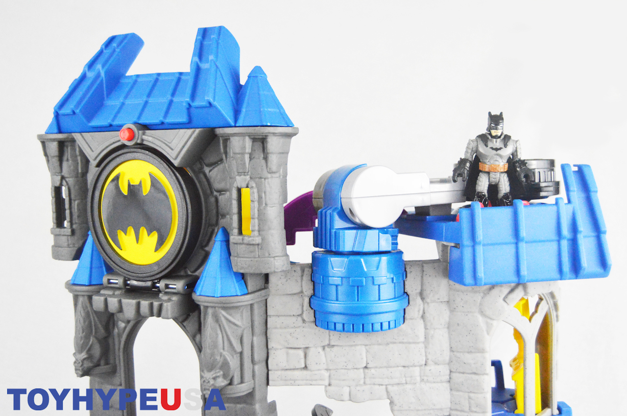 Fisher Price Imaginext DC Super Friends Wayne Manor Batcave Review
