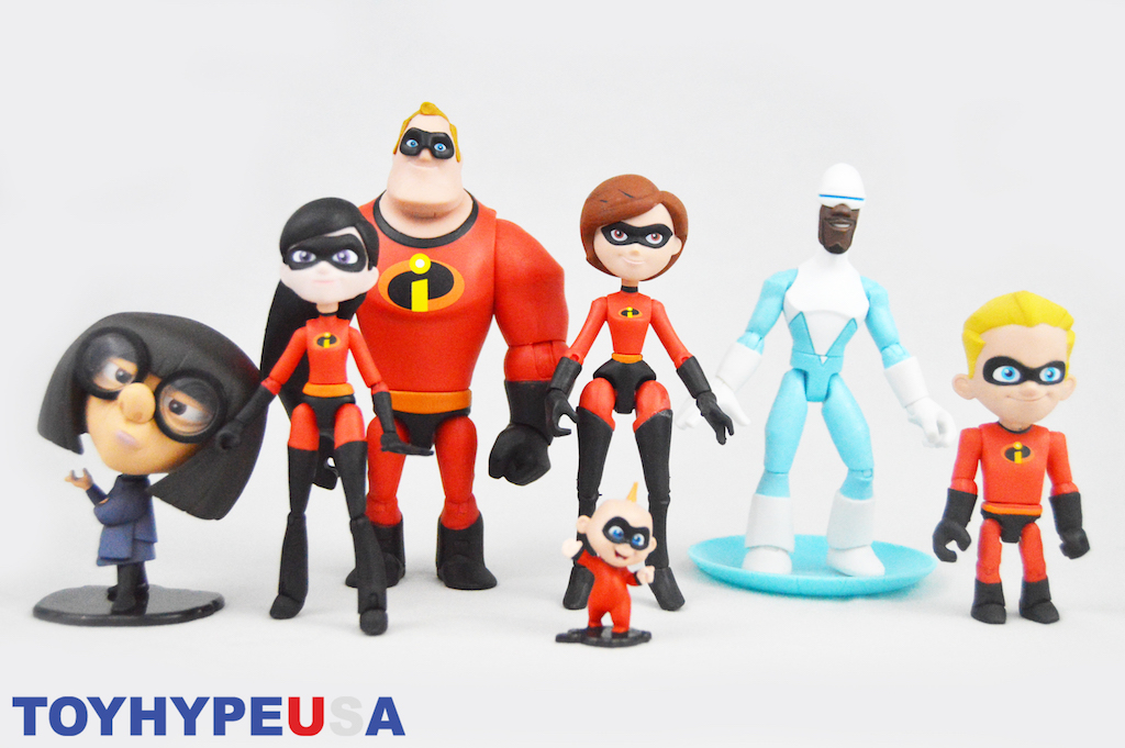 Disney Store Exclusive Pixar Toy Box Incredibles 2 – Frozone Figure Review