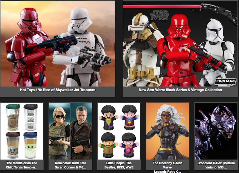 BigBadToyStore – Star Wars, Marvel Legends, Terminator, Transformers, Robotech, Conan The Barbarian, Mortal Kombat & More