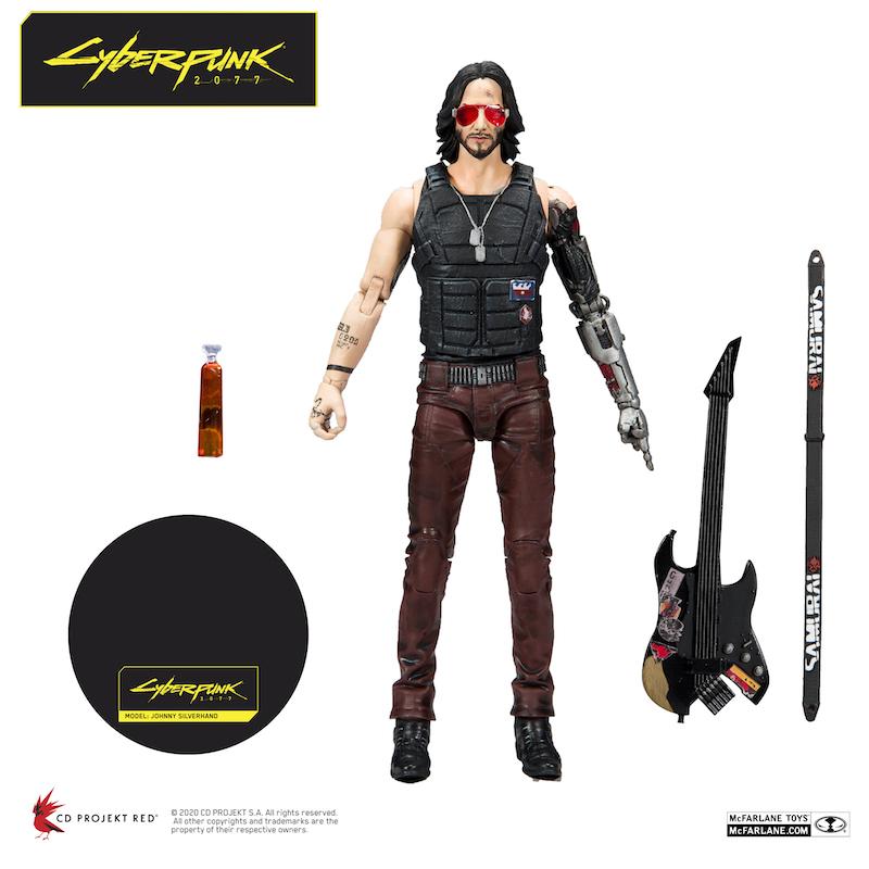 McFarlane Toys Announces Cyberpunk 2077 Figures