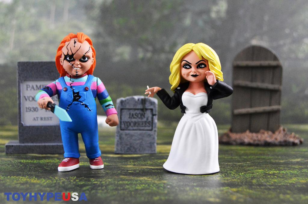 NECA Toys Toony Terrors Bride Of Chucky – Tiffany & Chucky Figures Review