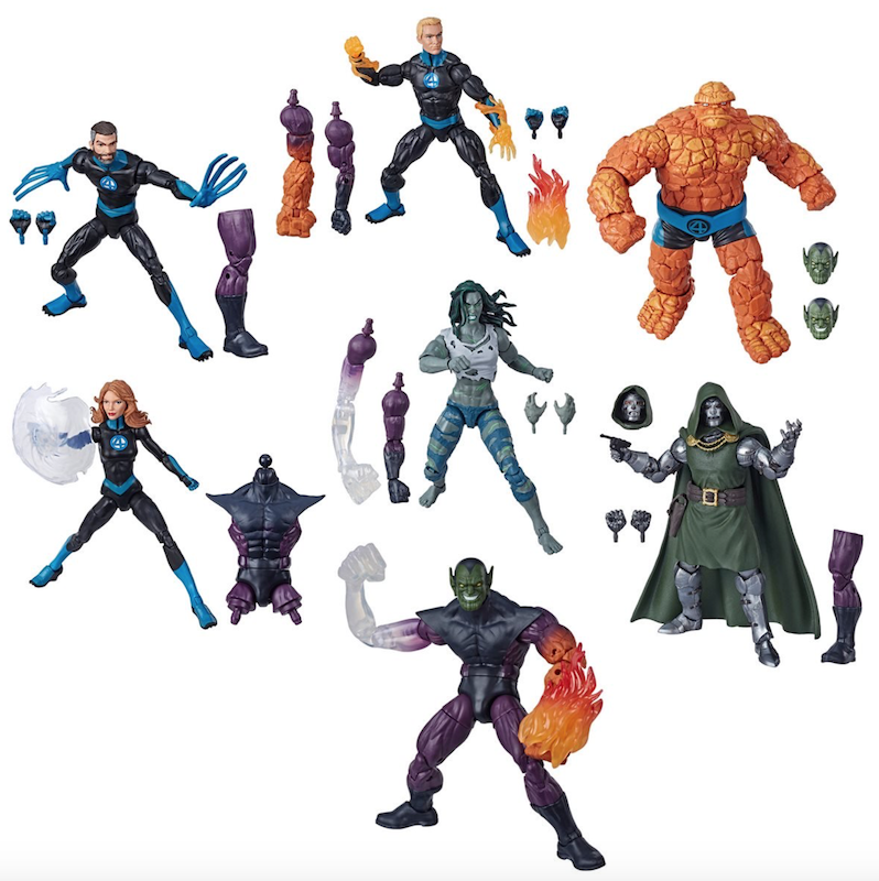 Entertainment Earth – Hasbro Marvel Legends 6″ Fantastic Four – Super Skull Wave In-Stock