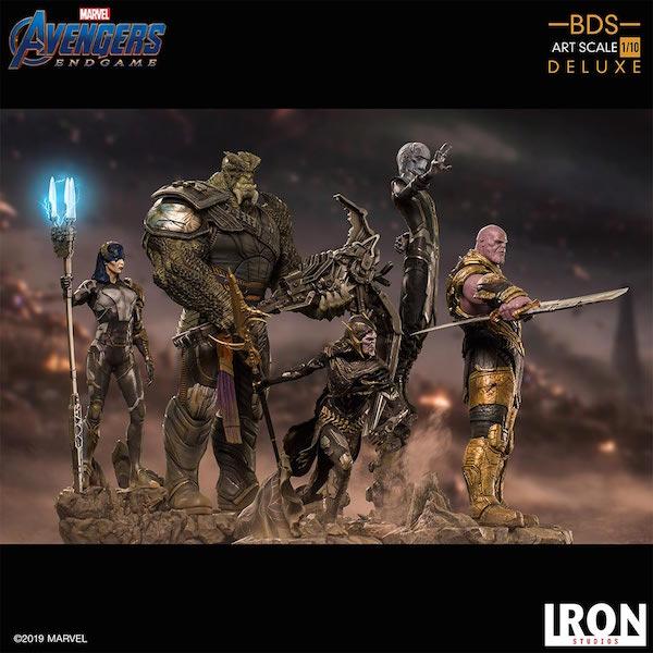 Iron Studios – Avengers: Endgame Thanos & Black Order Statue Pre-Orders