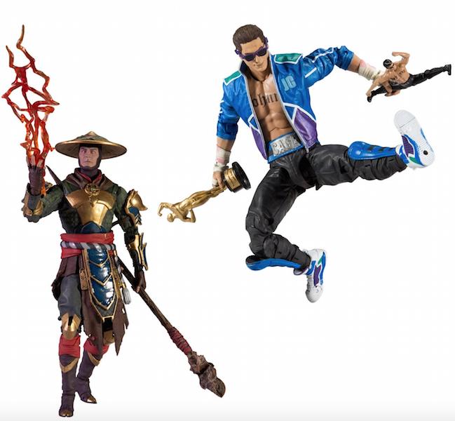 McFarlane Toys Mortal Kombat 11 Johnny Cage & Raiden Figures