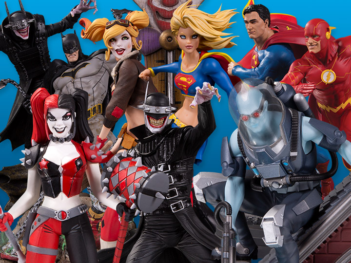 DC Collectibles Solicitations For September 2020 – New Statues