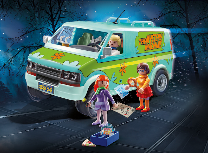Playmobil Scooby Doo Mystery Machine, Scooby & Shaggy & Villain Blind Bags