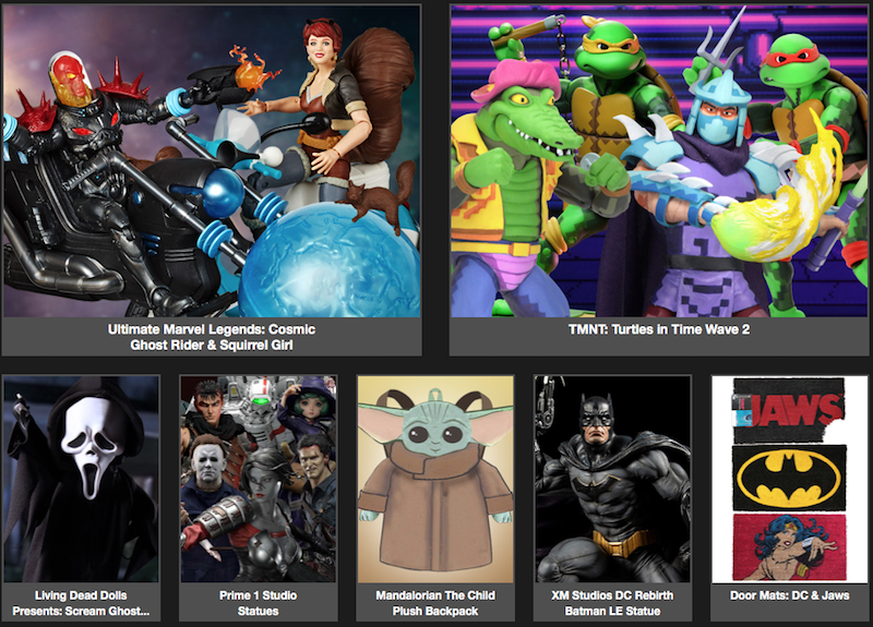BigBadToyStore Newsletter – TMNT, Marvel Legends, Ghostface, Prime 1, Mandalorian, ThunderCats, Aliens, Saint Seiya & More