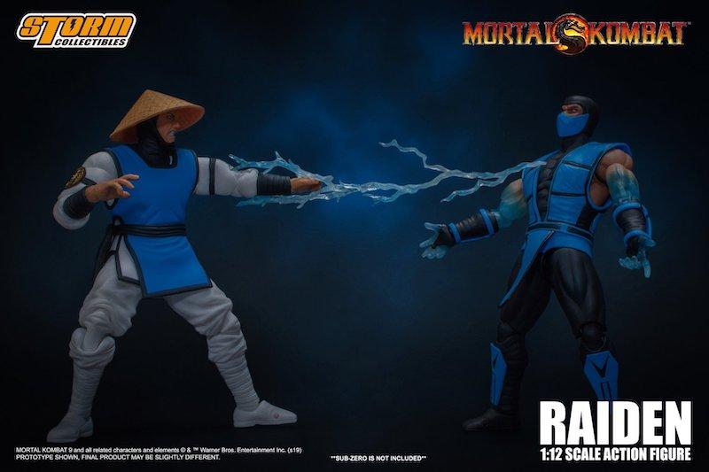 Storm Collectibles Mortal Kombat VS Series Raiden 1/12 Scale Figure Pre-Orders