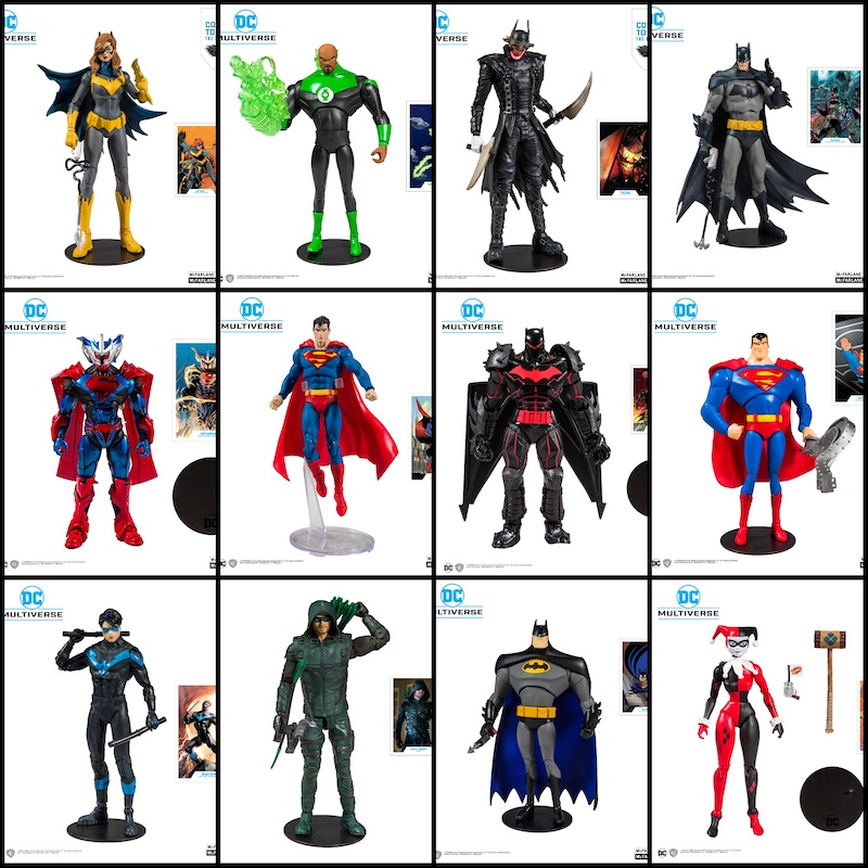 McFarlane Toys DC Multiverse Wave 1 Figures In-Stock On Amazon
